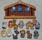 2006 FISHER PRICE LITTLE PEOPLE CHILDRENS NATIVITY SET W TOUCH