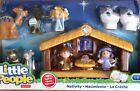 NIB Fisher Price Little People Nativity Christmas Holiday Toy Set