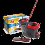O-Cedar EasyWring Microfiber Spin Mop and Bucket