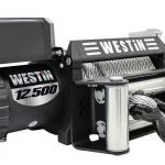 Westin Automotive Products 47-2106 Black (12500 lbs Load Capacity Waterproof Winch)