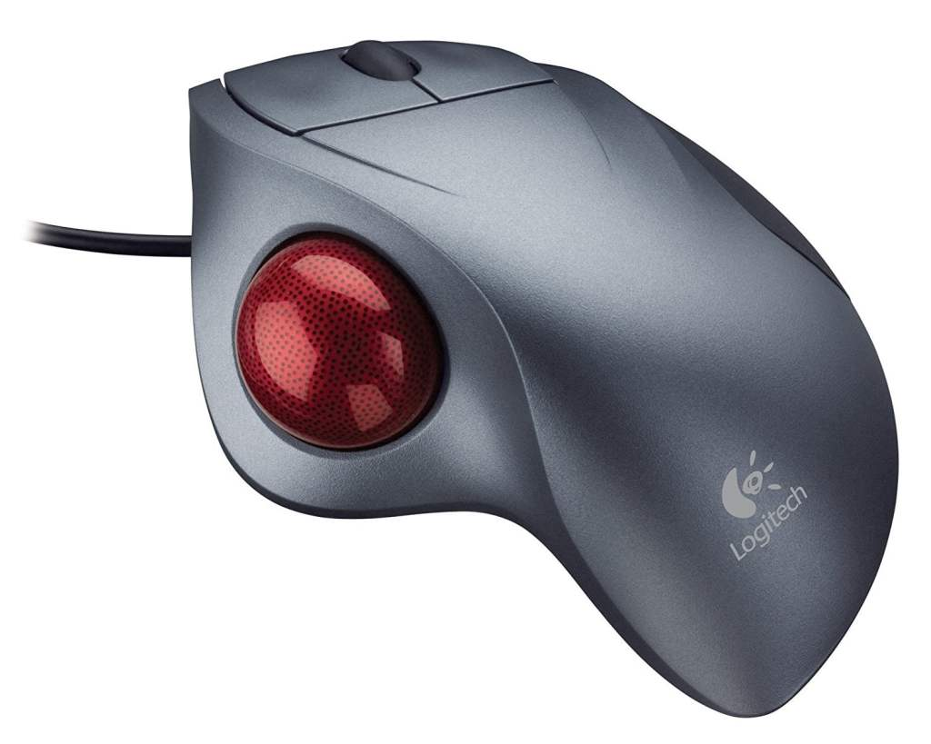 Logitech Trackman Wheel Optical