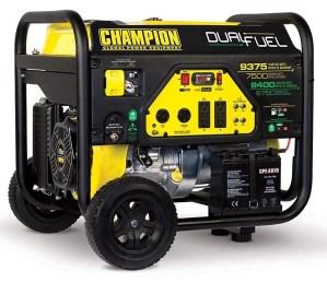 Champion 7500-Watt Best Dual Fuel Portable Generator Review