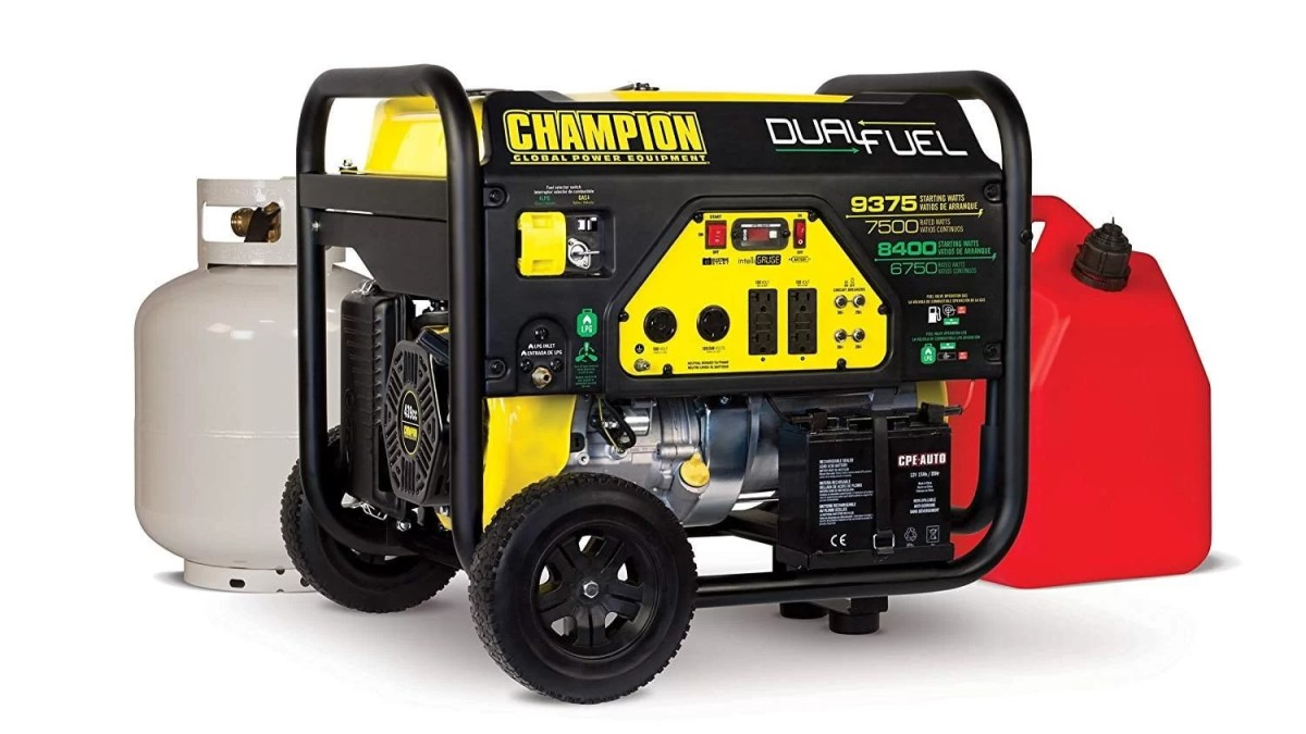 Champion 7500 Watt Best Dual Fuel Portable Generator Review