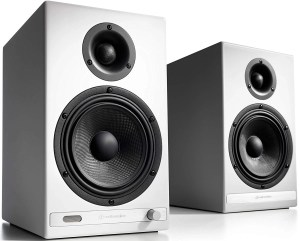 Audioengine HD6 150W Wireless Powered Bookshelf Speakers