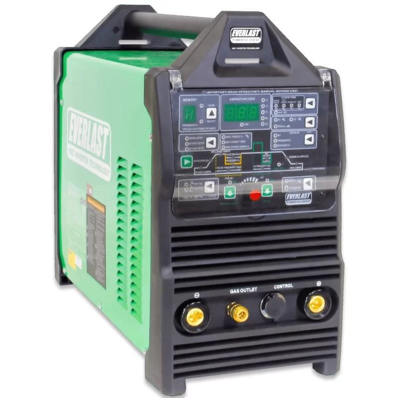 Everlast PowerTIG 255 EXT Digital Ac Dc Tig Stick Pulse Welder