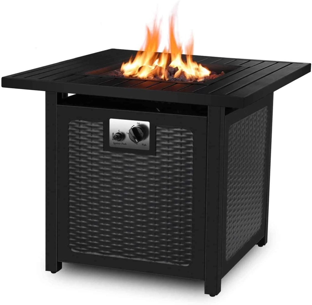 Femor 30-inch Propane Gas Firepit Table
