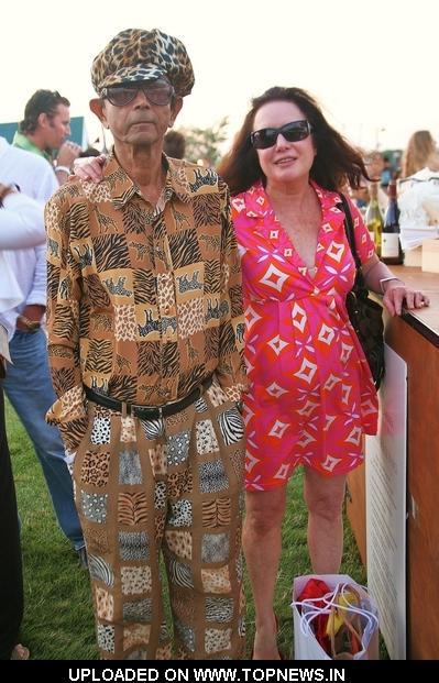 Shail Upadhya and Karen Bass at Hamptons Magazine's Annual Clambake Hosted at the Montauk Yacht Club Resort and Marina