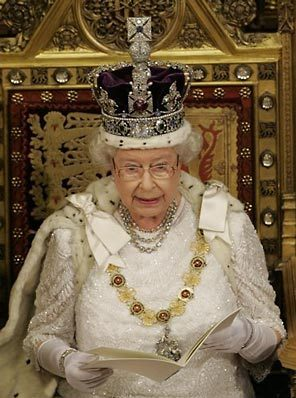 Queen Elizabeth the second is boring!