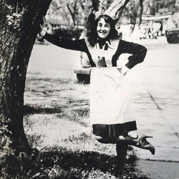16-летняя Лолита Милявская, выпускница львовской школы №35