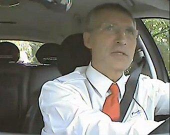 Норвежский премьер один день поработал таксистом