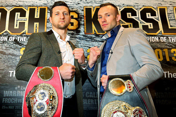 Froch Kessler Fight Live