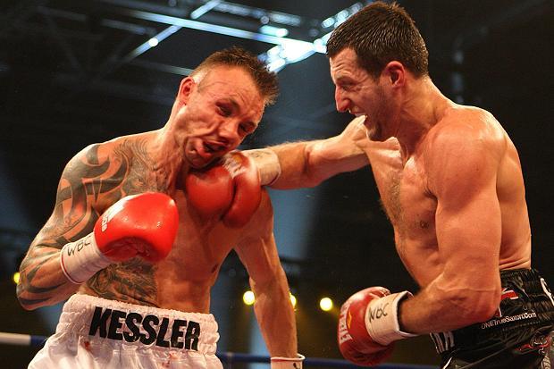 Froch Punching Kessler