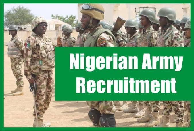 Requirements For The Nigerian Army Recruitment 2020/2021