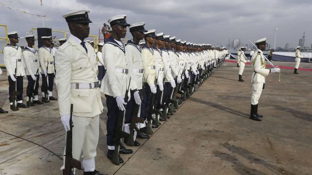 Documents for the Nigerian Navy Screening