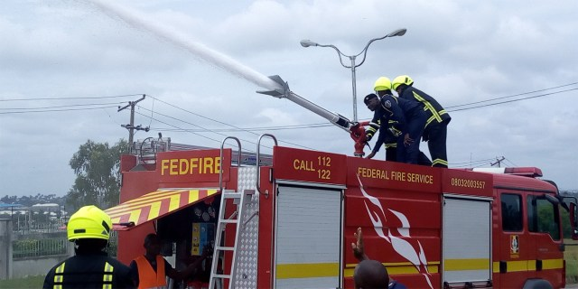 Federal fire servicetraining