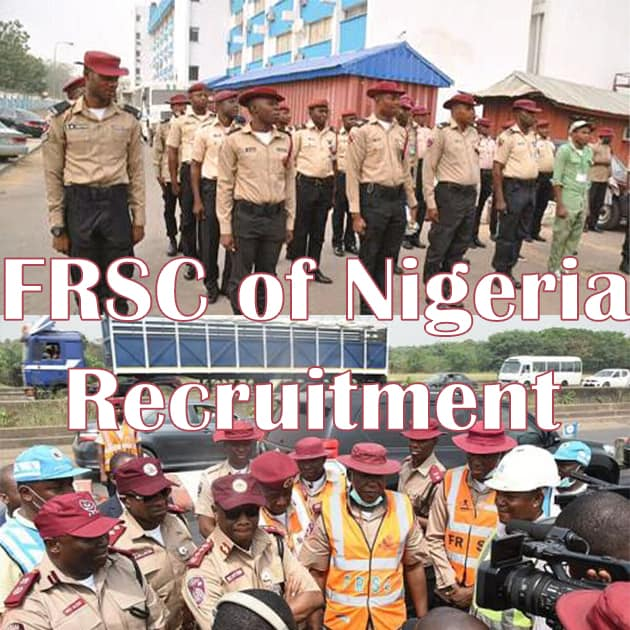 Federal Road Safety Corps Recruitment