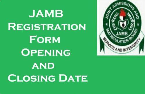 JAMB Form 2021/2022 Registration & Examination Date