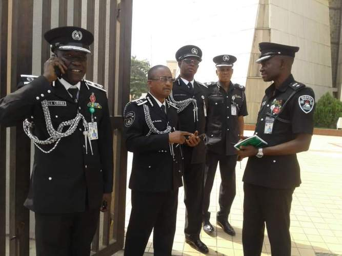 Nigeria Police Medical Screening List