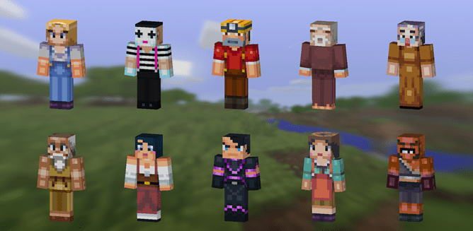 Minecraft Pocket Edition Will Be Updated With Player Skins, Fishing, Jockeys, New Animals, And More