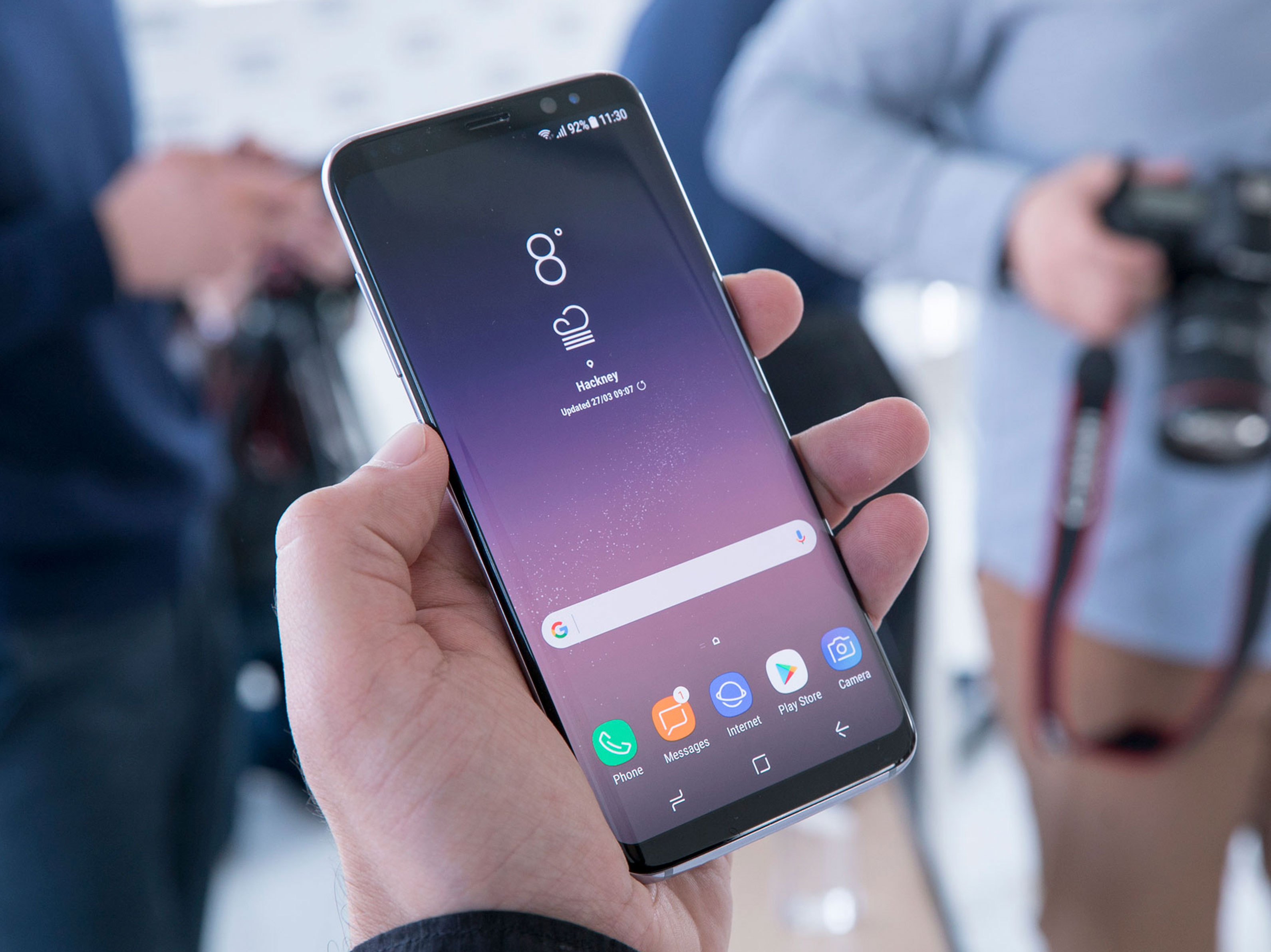 Official Samsung Galaxy S8 Wallpaper Collection Stock S8 Top Of Android