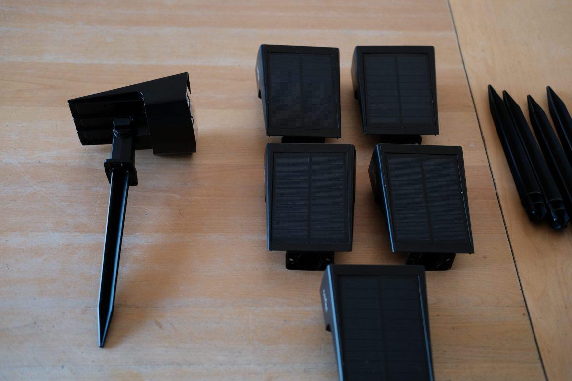 Setting up the Litom Solar Lights