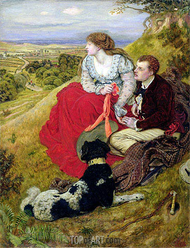 Byron's Dream - Ford Madox Brown - Painting Reproduction