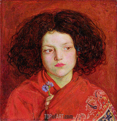 The Irish Girl - Ford Madox Brown - Hand-Painted Art Reproduction