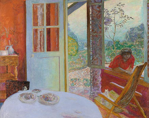 Dining Room In The Country Pierre Bonnard Painting