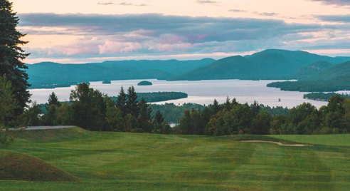 Golf on Lake George and in the Adirondack mountains at Top of the World Golf Resort