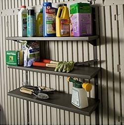 3-Shelf Storage Shed Accessory Kit