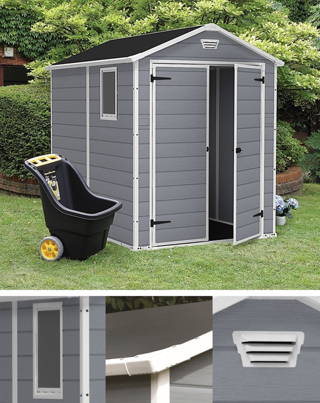 Best Outdoor Storage Sheds On The Market - Keter Manor Large Outdoor Backyard Shed