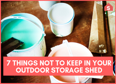 7 Things Not To Keep In Your Outdoor Storage Shed Page Image