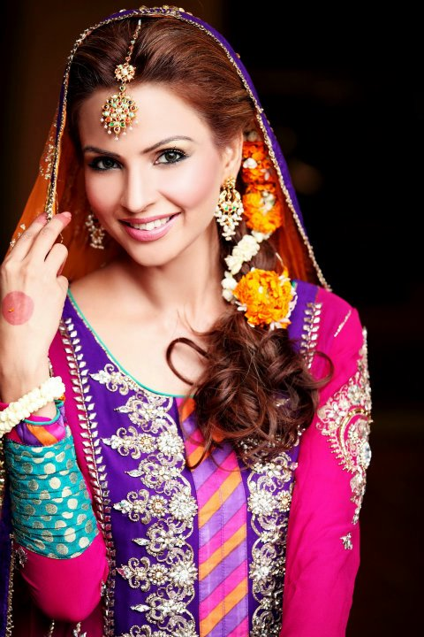 Pakkistani Mehndi Makeup Ideas In Pictures Top Pakistan