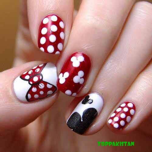 Latest New Year Nail Art Designs 2017 2018 In Stan