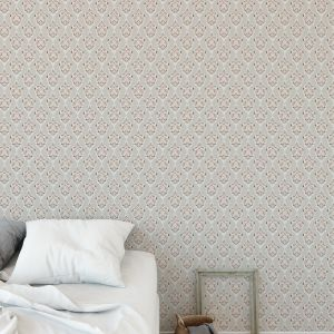 BONNIE IN GREY Peel and Stick Wallpaper