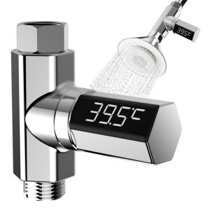 LED Thermometer Shower Water Display
