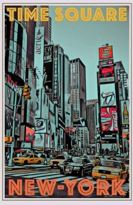 Vintage Travel Posters New York | The