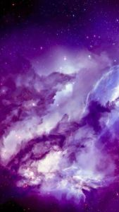 Angel galaxy iPhone Wallpapers