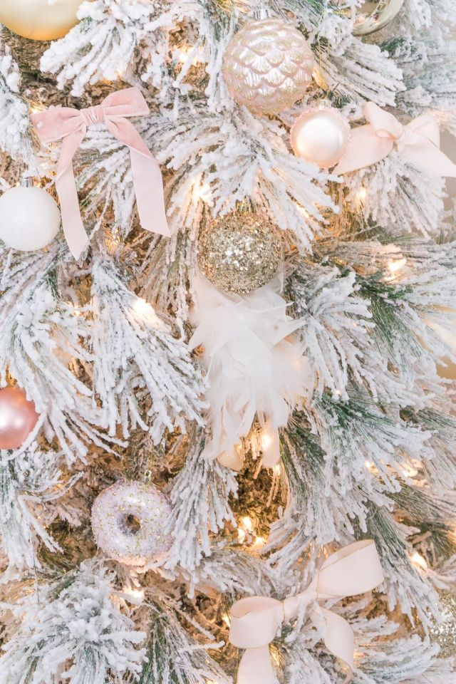 Pink Christmas Decor: Say Hello to Lovely Hues of Innocence - Hello Lovely