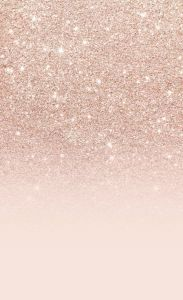 Rose gold faux glitter pink ombre color