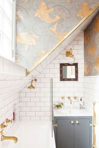 The Pink House Bathroom Before & After —