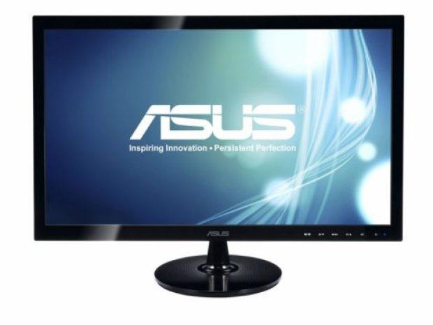 ASUS VS248H-P 24 Full HD 1920x1080 2ms HDMI DVI VGA Back-lit LED Monitor