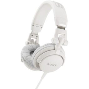 Sony MDR-V55 WHI DJ style Headphones