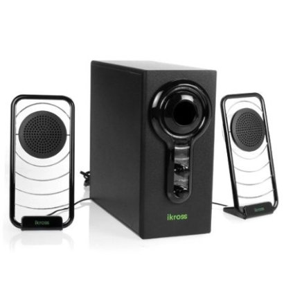 iKross 2.1 Satellite Speaker Sound System with Subwoofer
