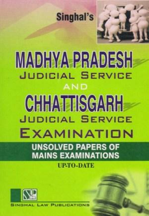 Singhal's MADHYA PRADESH Judicial Service