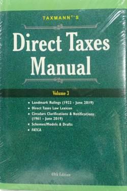 Taxmann's Direct Taxes Manual