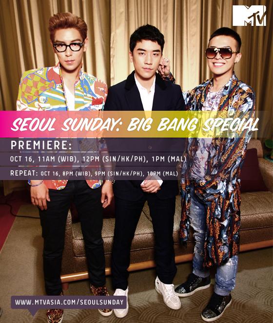 Seoul Sunday: Big Bang Special