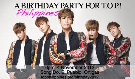 A Birthday Party for T.O.P.!