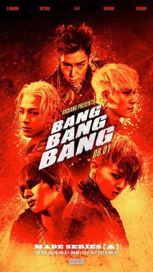 """Big Bang - MADE Series """"A"""" - Bang Bang Bang"""