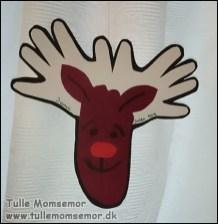 Elg lavet af hånd- og fodaftryk af James